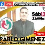 SHOW EN VIVO | PABLO GIMENEZ
